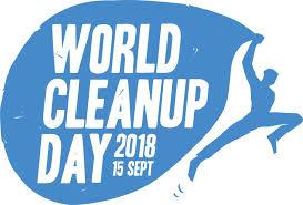 "Iniziativa ambientale ""WORLD CLEANUP DAY 2018"" – 15 Settembre"