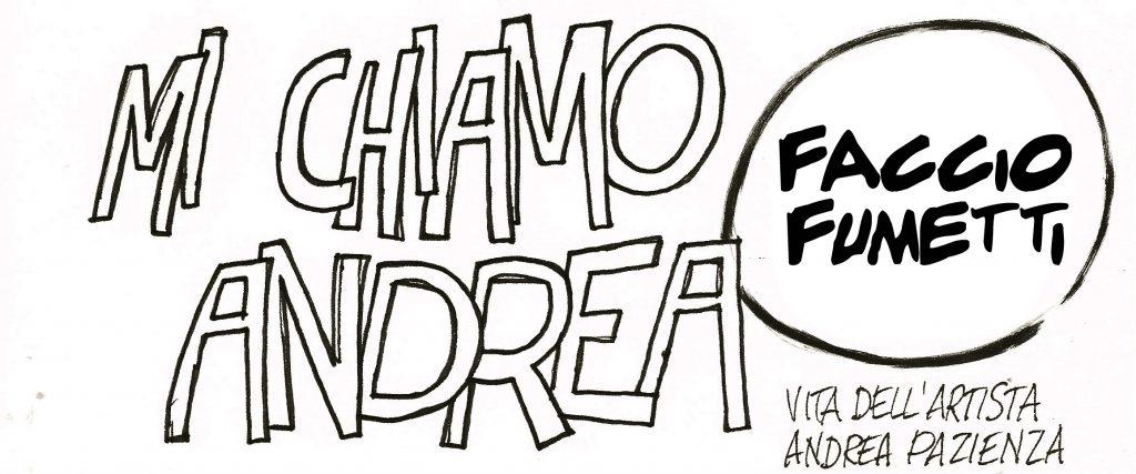"""A San Menaio, """"Mi chiamo Andrea e faccio fumetti"""""""