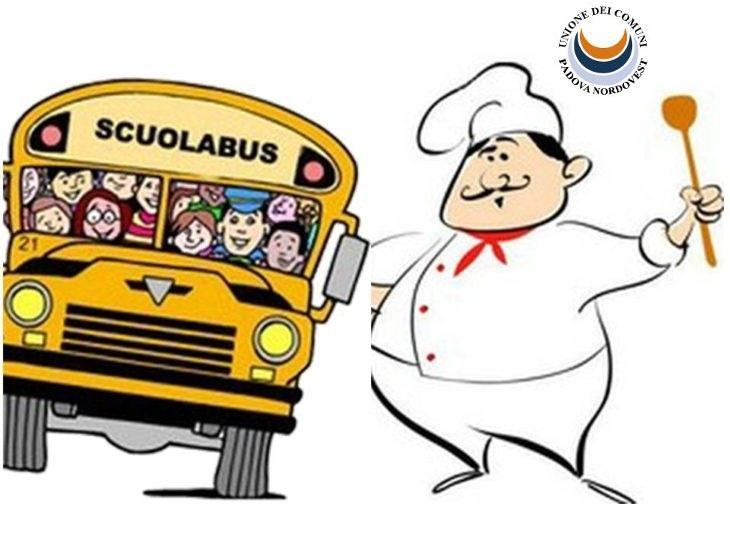 Avviso iscrizione al servizio refezione scolastica e al servizio trasporto scolastico per l'anno s. 2019-2020