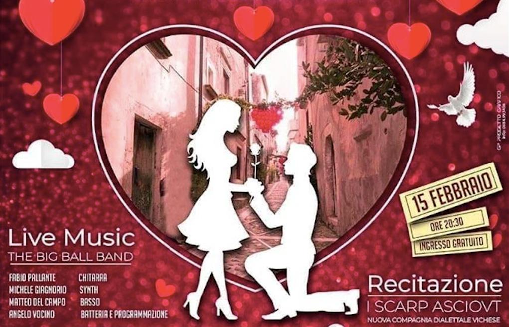 Vico, domenica 16 la processione di San Valentino. Stasera il musical nell'auditorium comunale