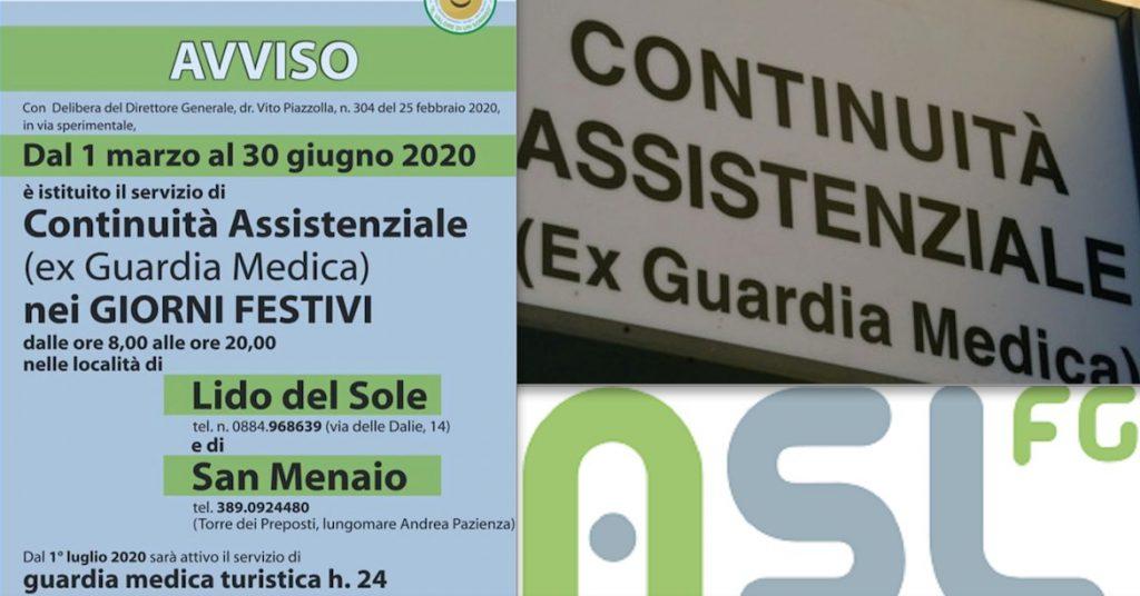 San Menaio, nuovo servizio di Continuità Assistenziale
