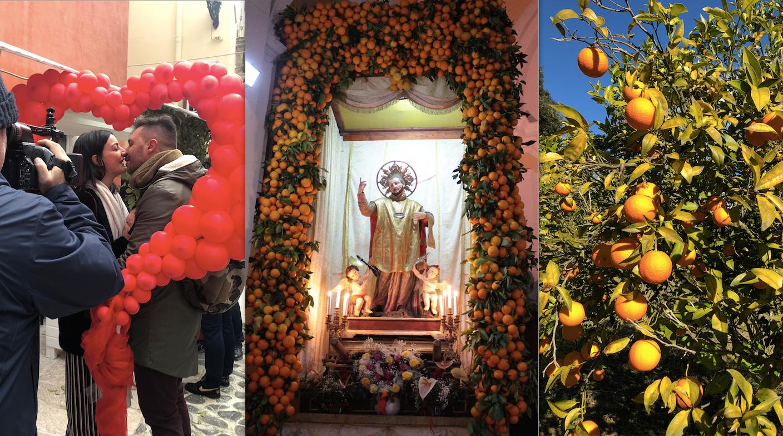 San Valentino a Vico: le arance Igp sono un elisir d'amore