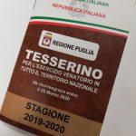 Proroga termine riconsegna tesserino venatorio stagione 2019-2020