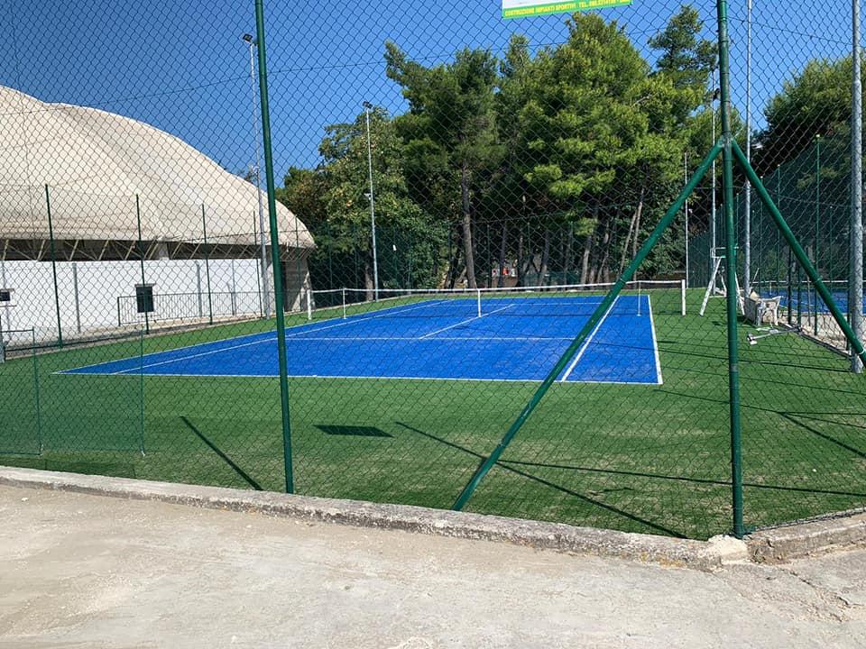 Campi da tennis rinnovati, ultimati i lavori