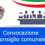 Avviso di convocazione del Consiglio Comunale - sessione straordinaria d'urgenza 23 marzo 2021