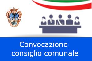 AVVISO DI CONVOCAZIONE DEL CONSIGLIO COMUNALE Sessione straordinaria d'urgenza  26 novembre 2020
